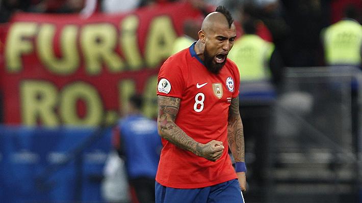 Arturo Vidal está en el top ten de futbolistas con más partidos jugados en las grandes ligas durante la última temporada