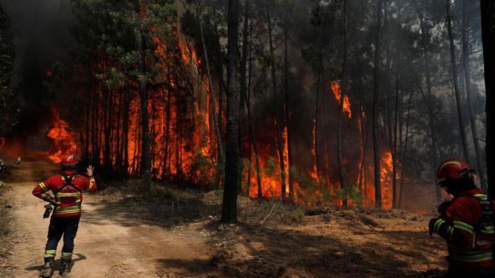 Portugal lucha por contener incendios en medio de críticas y preocupación por clima desfavorable
