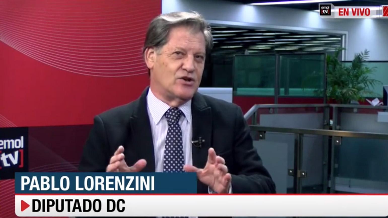 """Lorenzini (DC) propone llegar a un """"acuerdo intermedio"""" y bajarle un punto los impuestos a las empresas en reforma tributaria"""