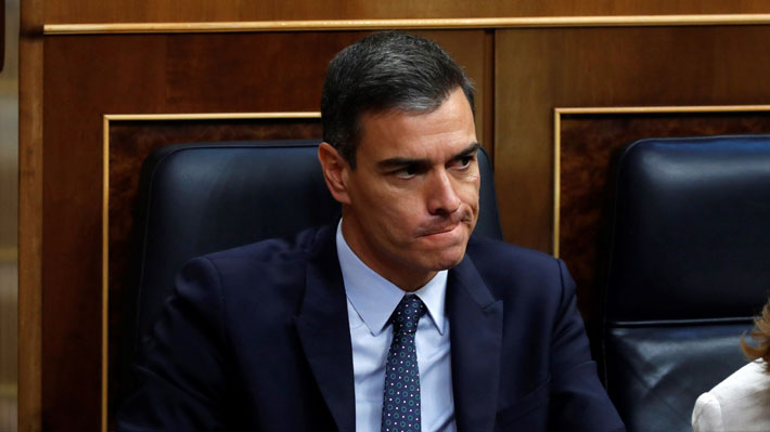 Congreso rechaza investir a Pedro Sánchez como Presidente de España en la primera votación