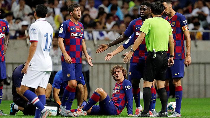 """""""Griezmann dio el susto"""": La dura entrada contra el delantero francés que puso las alarmas en el Barcelona"""