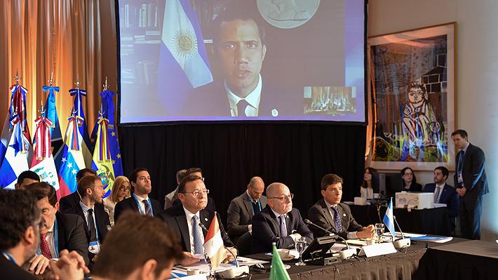 Grupo de Lima reafirma su apoyo a Guaidó e insiste con llamado a elecciones en Venezuela