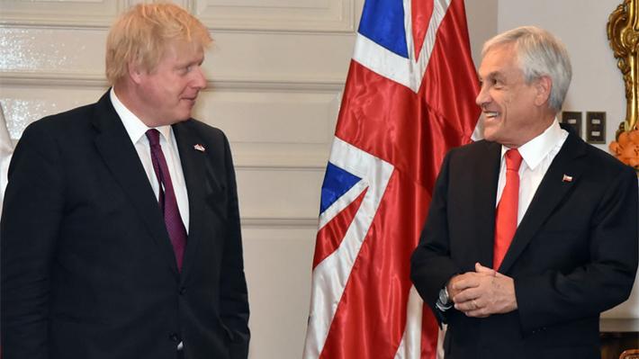Nexo con La Florida y una optimista mirada bilateral post Brexit: La visión de Boris Johnson sobre Chile