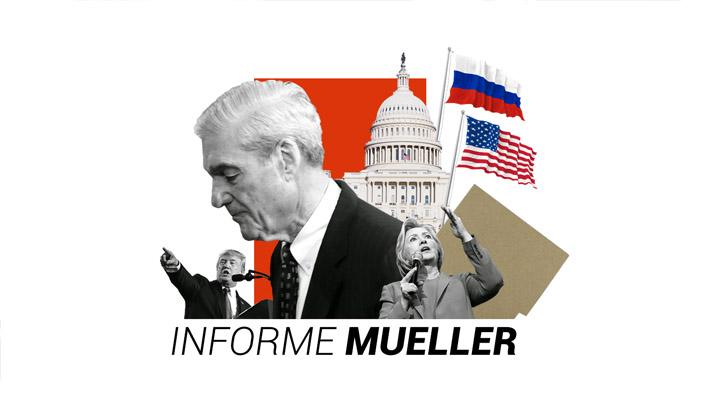 Los principales puntos y acusados del Informe Mueller, la investigación sobre la supuesta injerencia rusa en EE.UU.