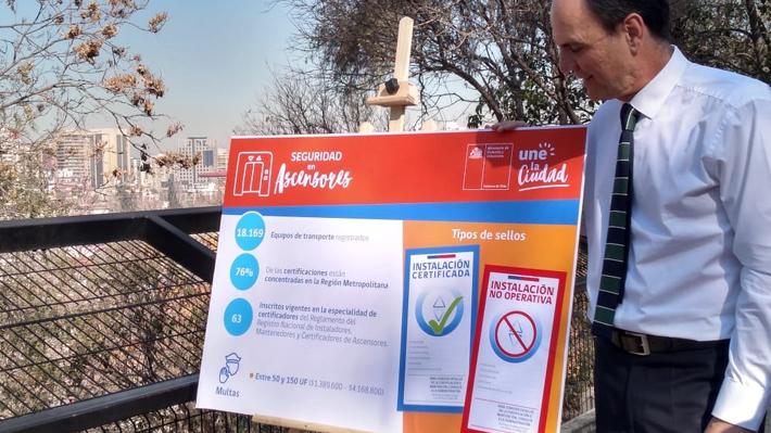 Ascensor que cayó 20 pisos en Las Condes: Minvu revela que 59% de los elevadores aún no están certificados