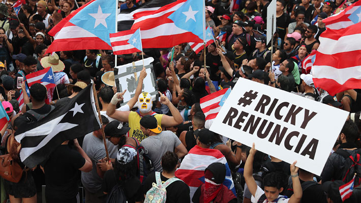 """De Rosselló a """"Bad Bunny"""": Quién es quién en el convulsionado escenario político que vive Puerto Rico"""