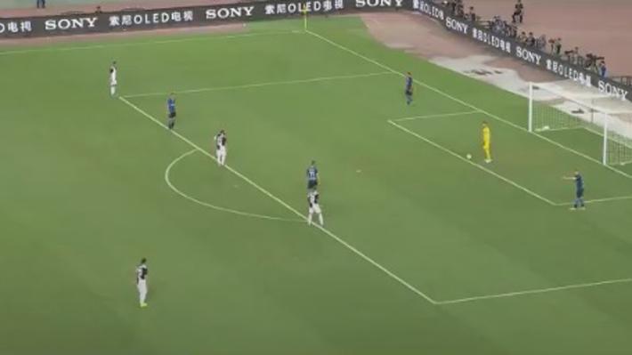 Video: La particular y efectiva salida desde el fondo del Inter de Milán para romper la presión de la Juventus