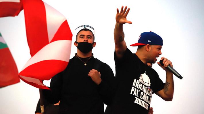 Artistas puertorriqueños celebran dimisión del gobernador Ricardo Rosselló