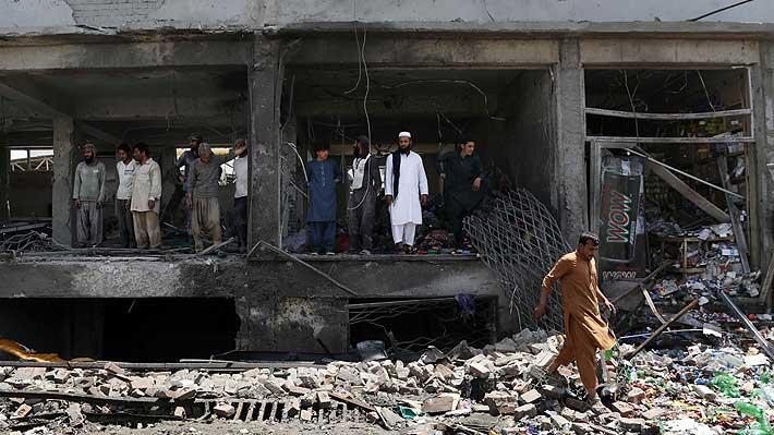 Afganistán: Tres atentados perpetrados por talibanes dejan 10 muertos y 41 heridos en Kabul
