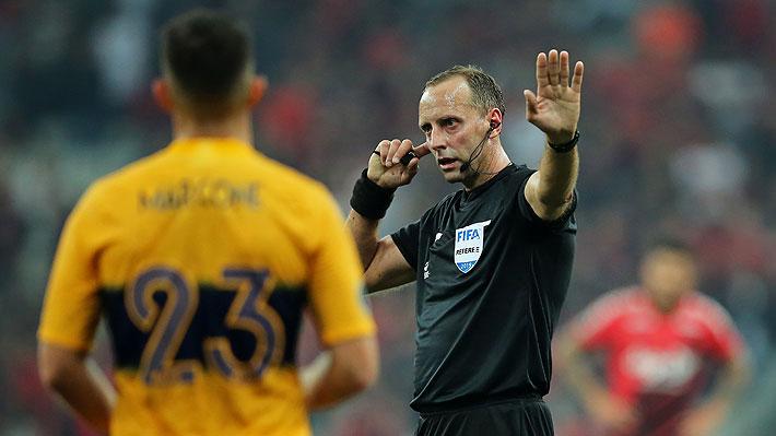 Mira el dudoso penal que le cobraron a Boca en la Libertadores y las reacciones que generó en Argentina