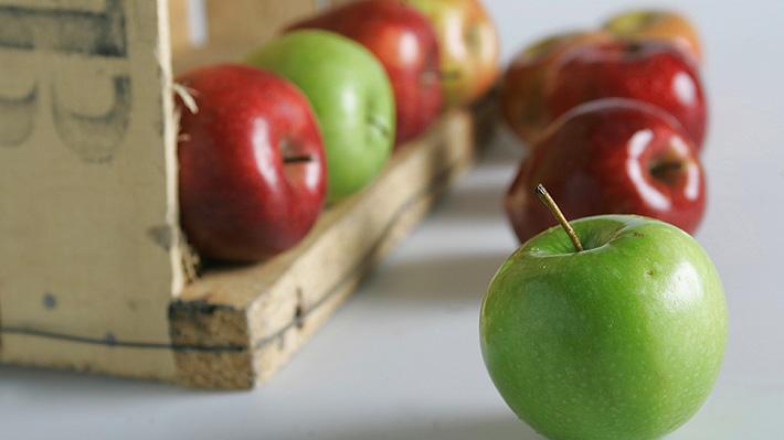 Los dias comer manzana todos