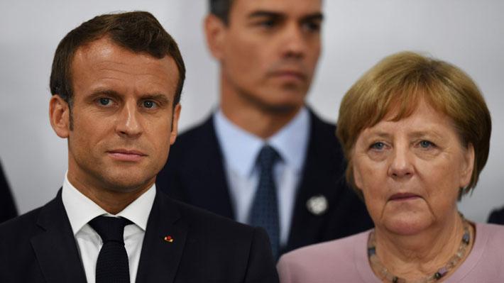 Macron y Merkel invitan a Boris Johnson a sus países para hablar sobre el Brexit