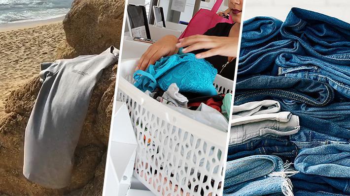 No lavar la ropa para ayudar al cuidado del medio ambiente: una tendencia que busca reducir el consumo de agua