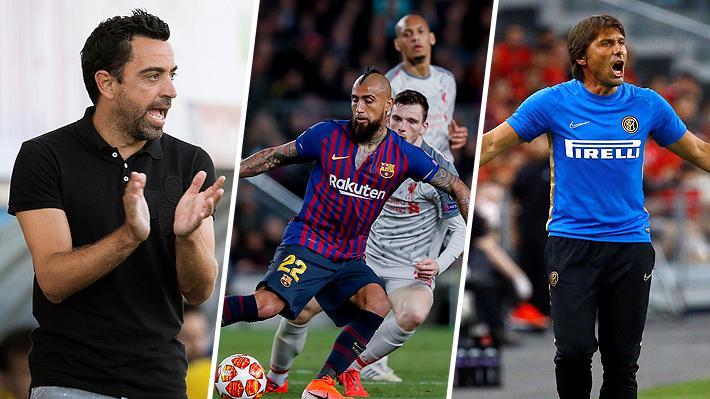 El presente de Vidal: Elogiado por un ídolo del Barça y observado desde Italia