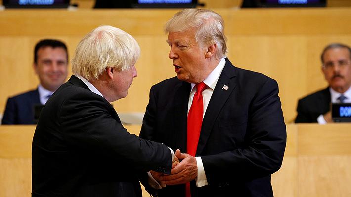 Donald Trump y Boris Johnson acuerdan iniciar conversaciones para un acuerdo de libre comercio tras el Brexit