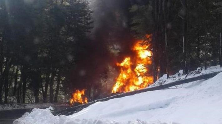 Reporte de chilenos heridos en fatal accidente en Neuquén: Niño de 12 años tiene quemaduras en tronco superior