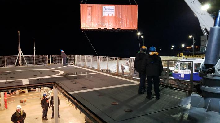 Reportan derrame de 40 mil litros de petróleo en terminal de Isla Guarello en Puerto Natales