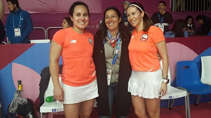 El Squash femenino le da la primera medalla a Chile en los Juegos Panamericanos de Lima