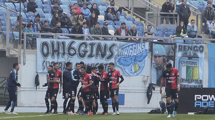 En una guerra de goles, Antofagasta se impone a O'Higgins tras un gran primer tiempo y manda a la U a zona de descenso