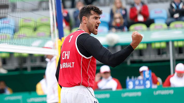La dupla rival que tendrán los primos Grimalt para ir por la medalla del voleibol playa de Lima 2019