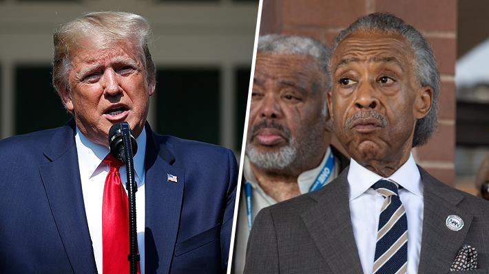Trump arremete contra famoso activista afroamericano en medio de polémica por dichos sobre Baltimore