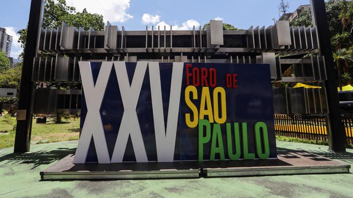 Declaración final de Foro de Sao Paulo, al que asistieron políticos chilenos, apoya demanda marítima de Bolivia