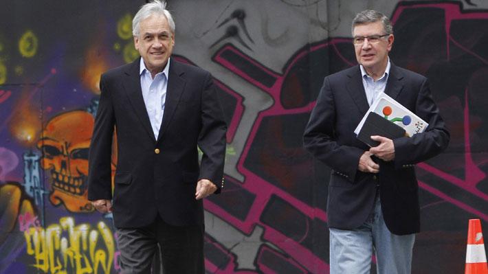 """Piñera destaca """"amistad"""" con Lavín y asegura que en Chile Vamos """"tenemos muy buenos candidatos presidenciales"""""""