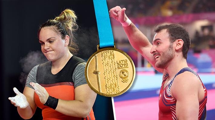 Tomás González y Fernanda Valdés brillan en sus disciplinas y Chile gana sus primeros oros en estos Panamericanos