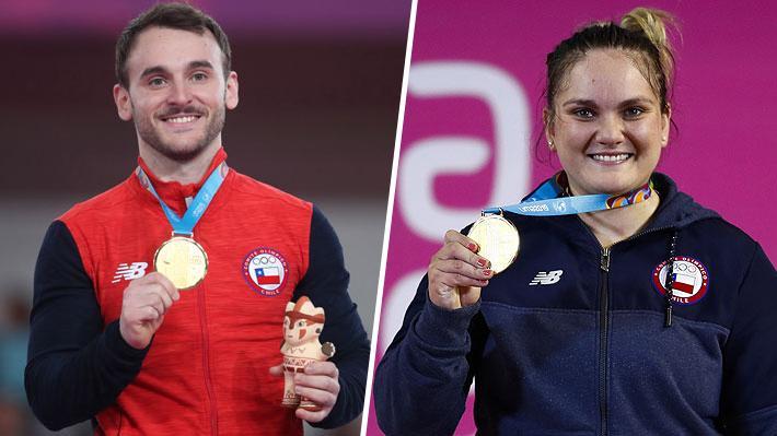 ¿Cuánto vale el oro? Los millones que reciben los deportistas chilenos por cada medalla ganada en los Panamericanos