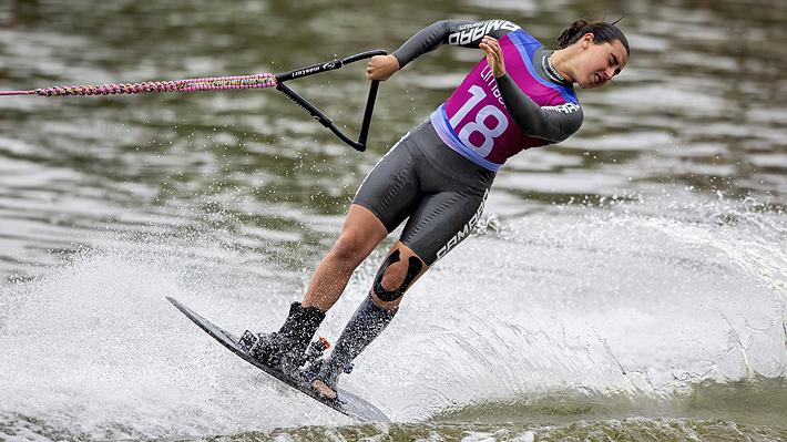 """La joven esquiadora que triunfó en Lima se sumó al debate: """"Los que nos critican piensan que las medallas llegan solas"""""""