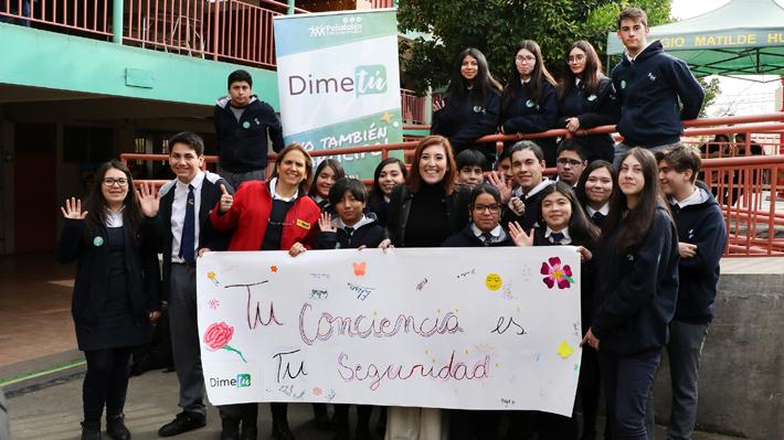 Dime tú: La consulta de Peñalolén a escolares para prevenir el consumo de drogas y alcohol