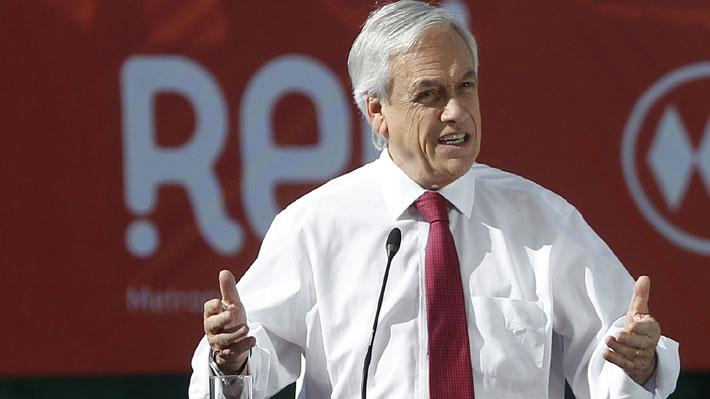 Criteria: Luego de tres meses de caída, aprobación de Piñera sube tres puntos y llega al 30%