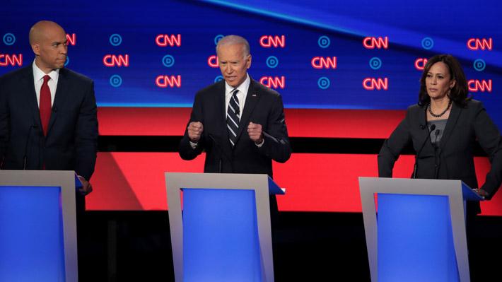 EE.UU.: Ataques contra Biden por deportaciones realizadas durante Gobierno de Obama marcan segundo debate demócrata