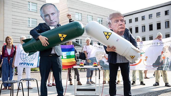 Retiro de EE.UU. de acuerdo nuclear con Rusia se hace efectivo y enciende las alarmas en el mundo