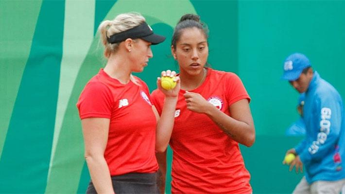 Chile asegura pelear por medalla en el dobles femenino, pero se despide en el masculino del tenis panamericano