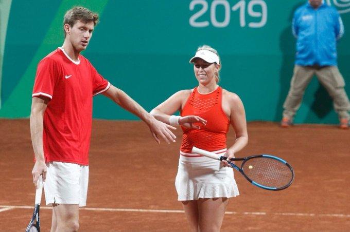 Jarry y Guarachi también ganan en el dobles mixto y Chile sigue con opciones de hasta cinco medallas en el tenis panamericano