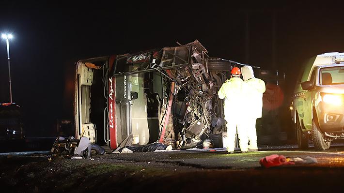Dueño de empresa de buses Línea Azul es detenido en Chillán luego de accidente que dejó seis víctimas fatales