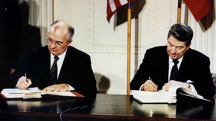 El fin del INF, el histórico acuerdo nuclear entre EE.UU. y Rusia firmado en las postrimerías de la Guerra Fría