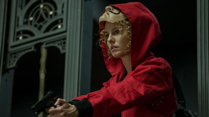 """Tercera temporada de """"La casa de papel"""" se convierte en la serie más vista por los chilenos en Netflix"""
