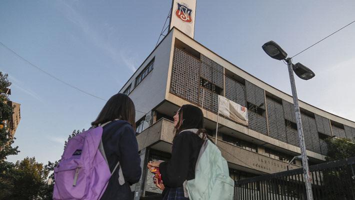 Instituto Nacional mixto debutaría en marzo de 2020 recibiendo a 350 mujeres en 7° básico