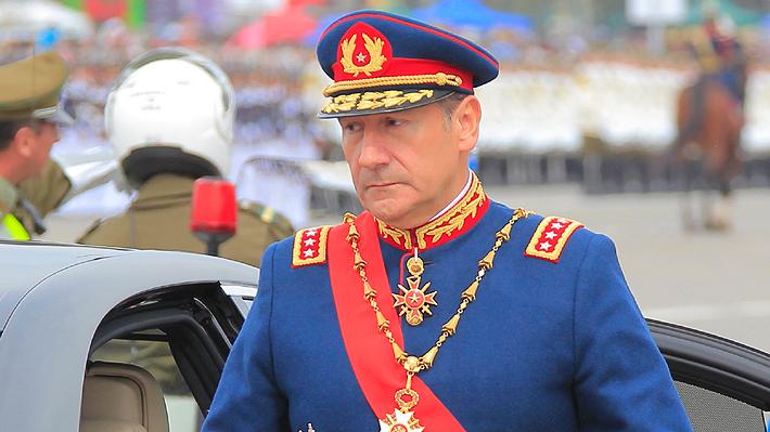 Corte Marcial rechaza otorgar libertad a ex comandante en Jefe del Ejército, Juan Miguel Fuente-Alba