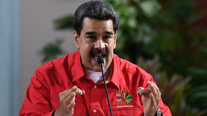 """Maduro pide a venezolanos prepararse para """"una batalla si el Presidente de EE.UU. lleva adelante un bloqueo"""""""