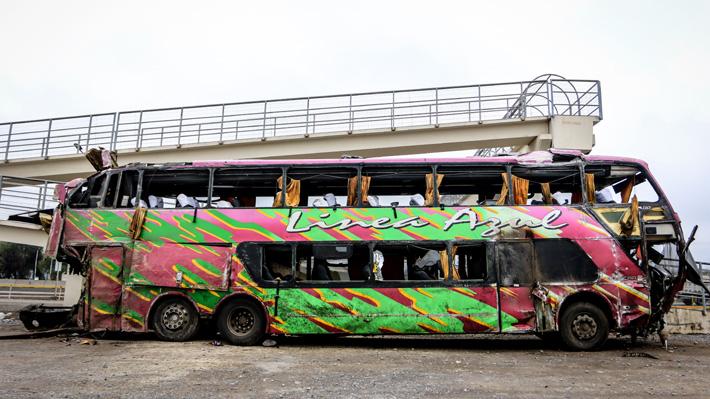 """Ministra de Transportes suspende """"todos los servicios interurbanos"""" de Línea Azul tras accidente que dejó 6 fallecidos"""