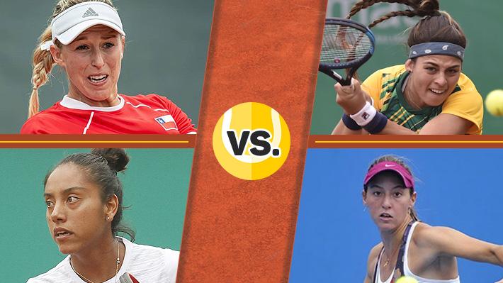 Repasa la derrota de Guarachi y Seguel ante Brasil en la disputa por el bronce del dobles femenino