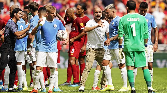 """Guardiola elogia a Bravo por su actuación ante el Liverpool, pero destaca: """"Es un increíble segundo portero"""""""