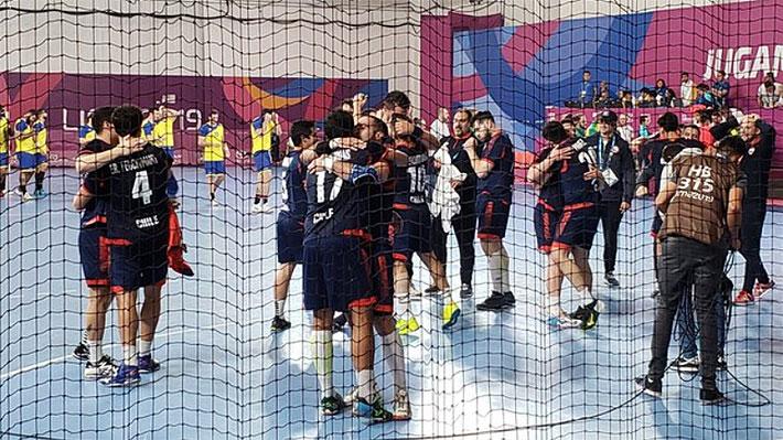 Chile logra un histórico triunfo ante el último campeón panamericano y ahora va por la hazaña y el oro en el balonmano