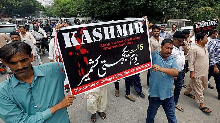 Gobierno indio revoca la autonomía constitucional de Cachemira