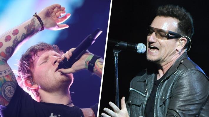 Ed Sheeran supera a U2 en la lista de giras más taquilleras de la historia