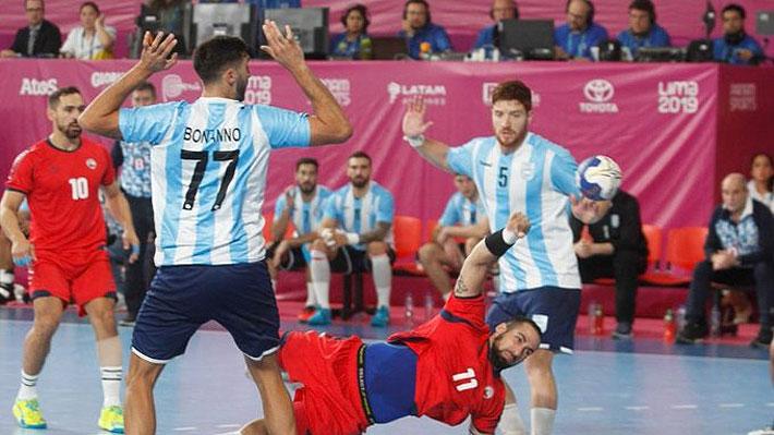 Chile no pudo con Argentina en la final del balonmano, pero consiguió una histórica medalla de plata en los Panamericanos