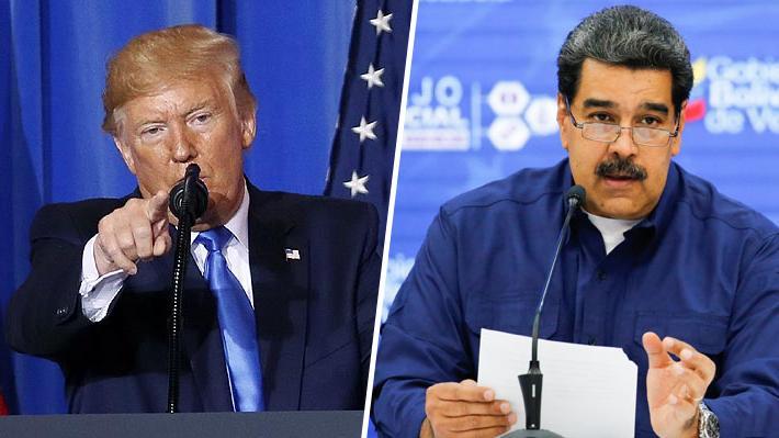 Trump arremete contra Maduro y ordena congelar activos del Gobierno venezolano en EE.UU.
